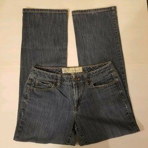 Ann Taylor Loft Ladies Size 6  Blue Jeans Boot